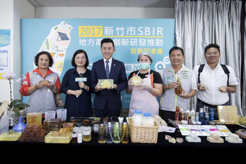 SBIR計畫開跑! 林智堅市長:鼓勵中小企業創新研發