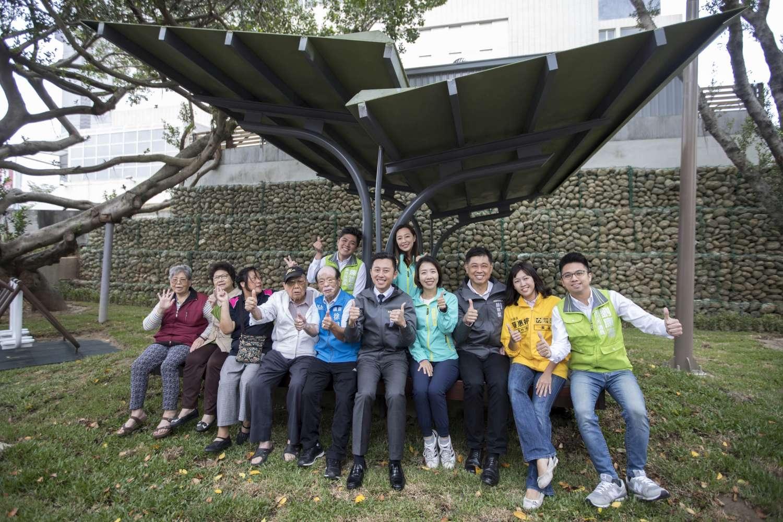 南大公園20年大改造 竹蓮市場菜籃族休憩新據點3