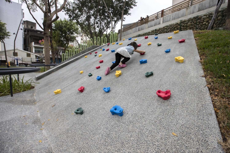 南大公園20年大改造 竹蓮市場菜籃族休憩新據點6