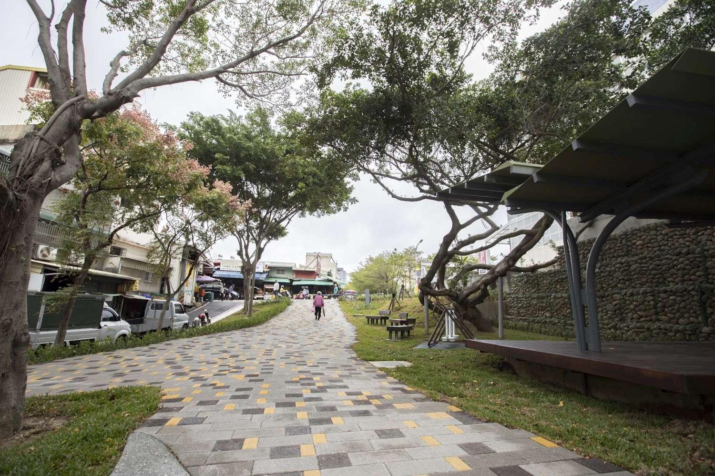 南大公園20年大改造 竹蓮市場菜籃族休憩新據點8