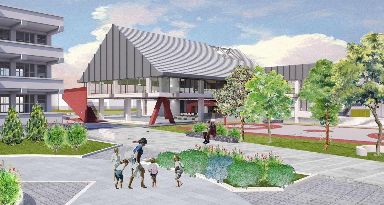 水源國小活動中心模擬設計圖