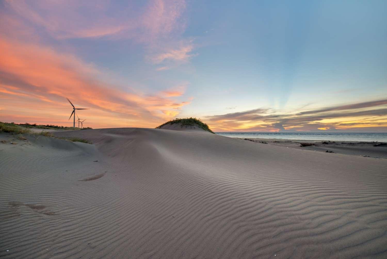 5.香山沙丘,圖片由楊安生先生提供,取自新竹生活。|
