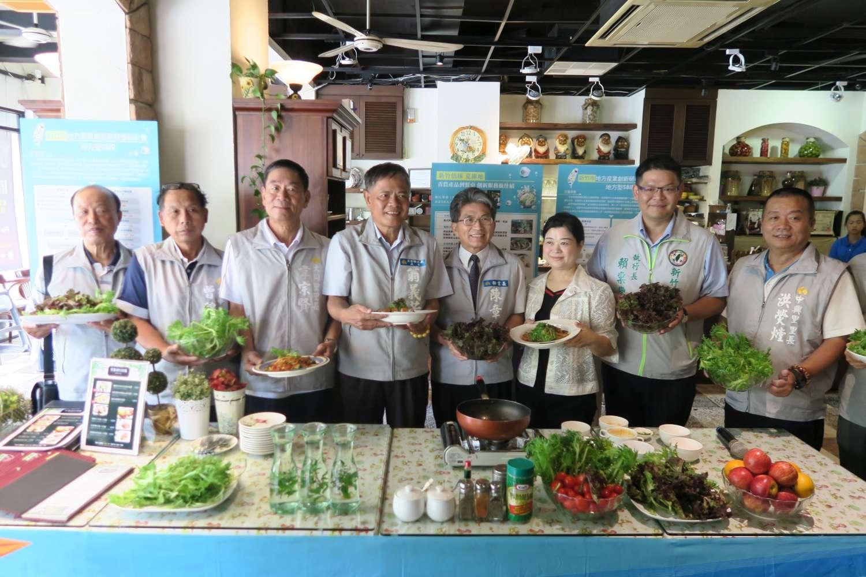 創意義式料理 推廣本地好農產 林智堅市長:SBIR助廠商創新研發