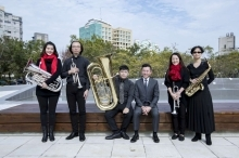 Mayor Lin and Hsinchu Municipal Wind Orchestra