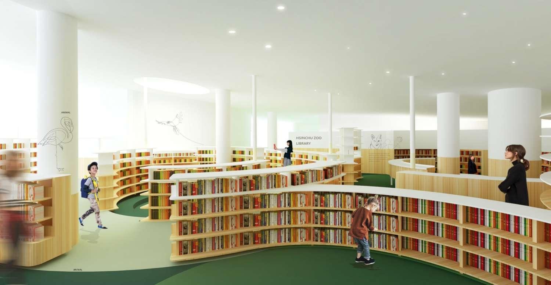 竹市新建動物園圖書館